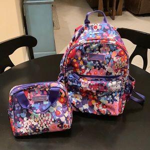 Vera Bradley IMPRESSIONISTA backpack/lunch cooler